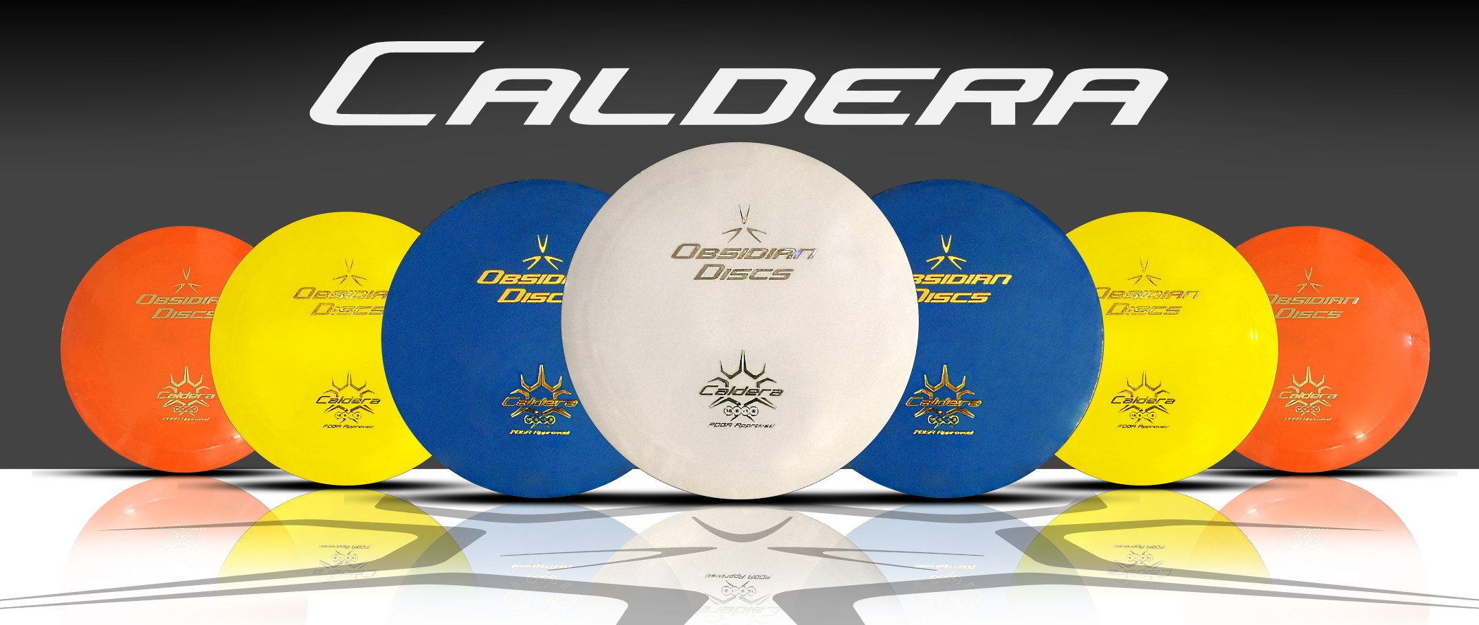 Obsidian Discs - Caldera Distance Driver